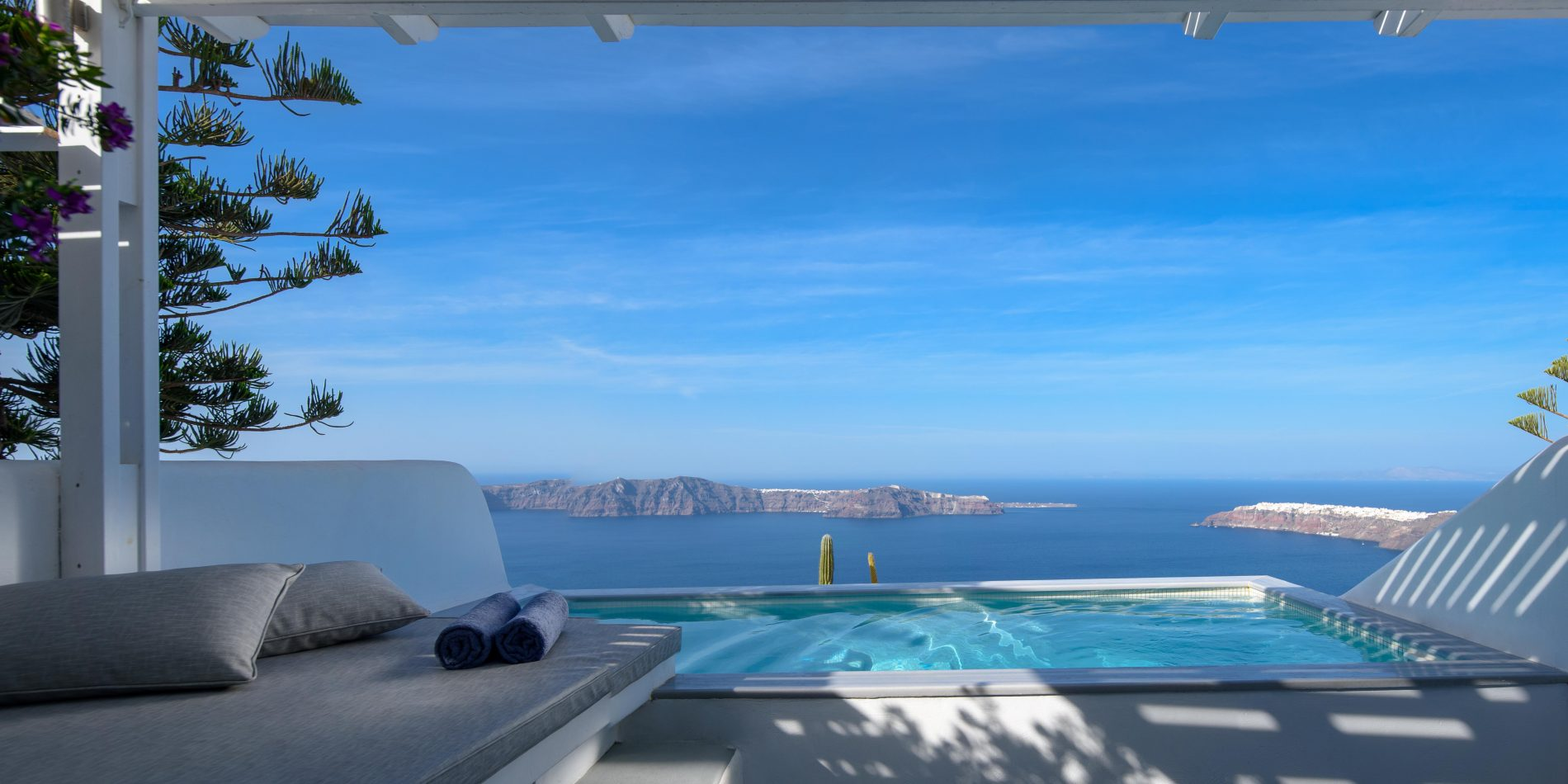 Andromeda Villas Hotel and Spa in Santorini island